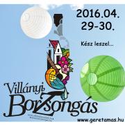 BorZsongás 2016 - megvan a program